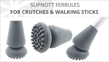 SLIPNOTT FERRULES FOR CRUTCHES